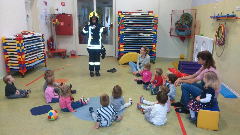 Predstavitev gasilcev